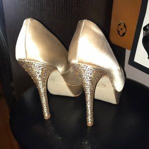 Steve Madden rhinestone heeled shoes